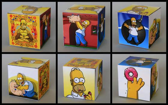 homer vector freebie box