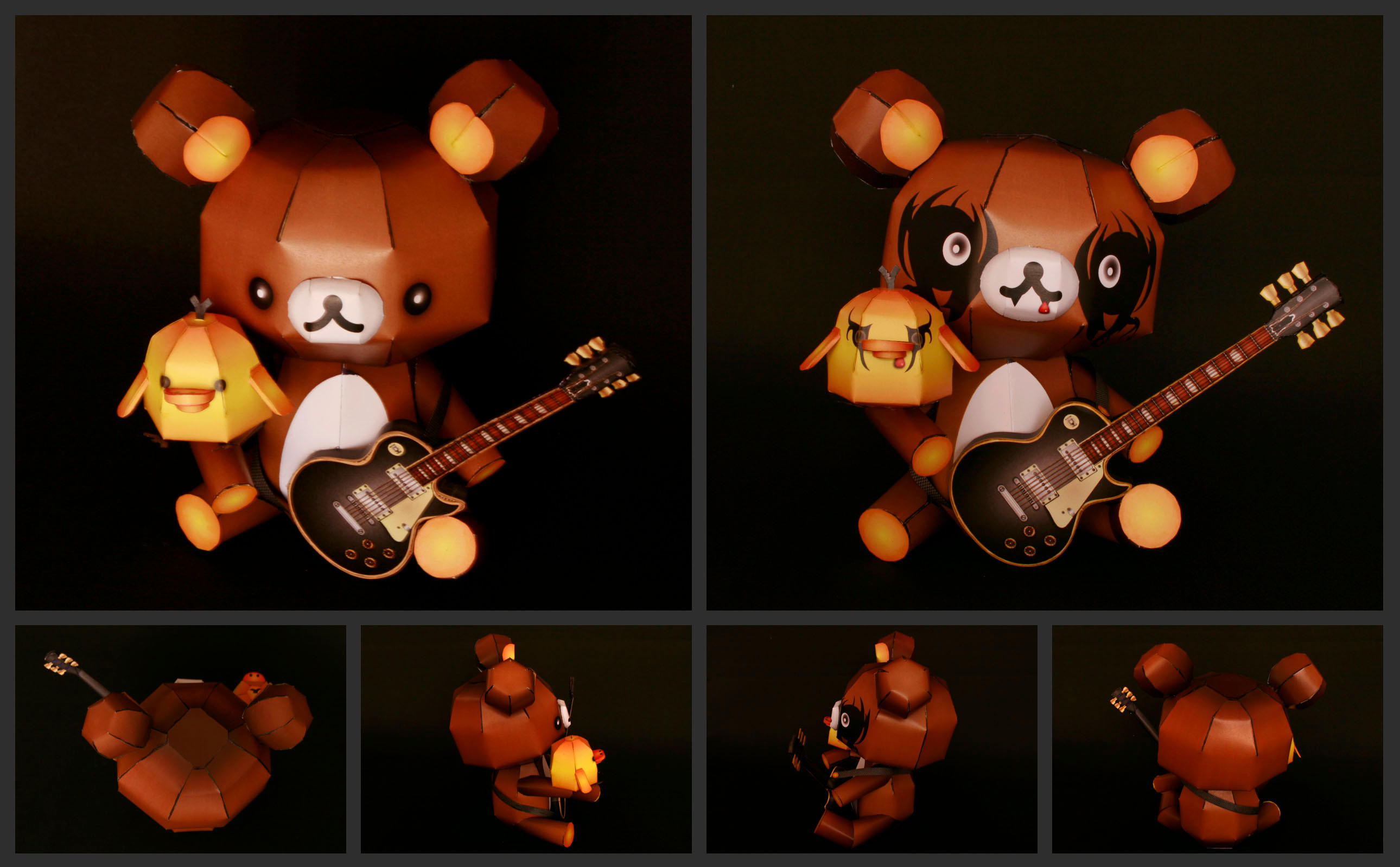 rilakkuma black metal-rocks by ikarusmedia