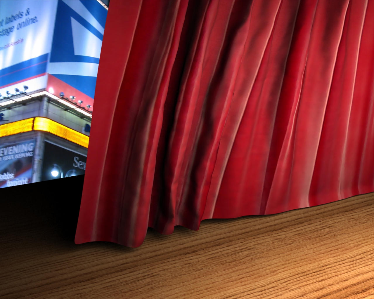 Theatre Curtains Opening Movie by digitalresource