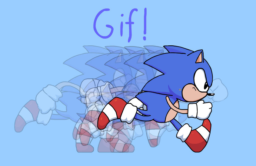 Sonic Cd Run Sprite Gif By Thejege12 On Deviantart