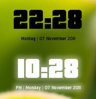 Pricedown Sidebar Clock by Rah2005