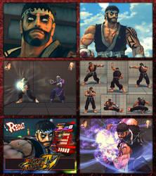 Street Fighter IV - Ryu ReTex