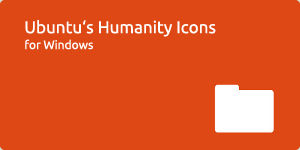 Humanity Icons for Windows
