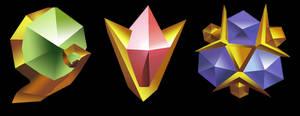 Zelda Spiritual Stones Pack by GGRock70