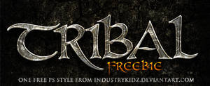 FREE TRIBAL PHOTOSHOP STYLE by Industrykidz