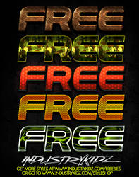 FREE PHOTOSHOP STYLES V2 by Industrykidz