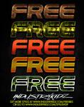 FREE PHOTOSHOP STYLES V2