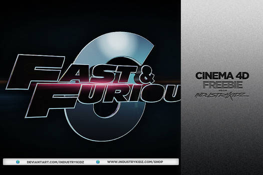 Fast and Furious 6 Cinema 4D