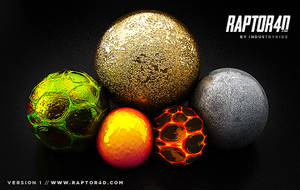 NEW CINEMA 4D MATERIAL PACK! by Industrykidz