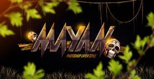 Mayan Photoshop Layer Style