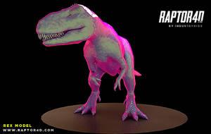 Raptor 4d Free REX Model For Cinema4D by Industrykidz