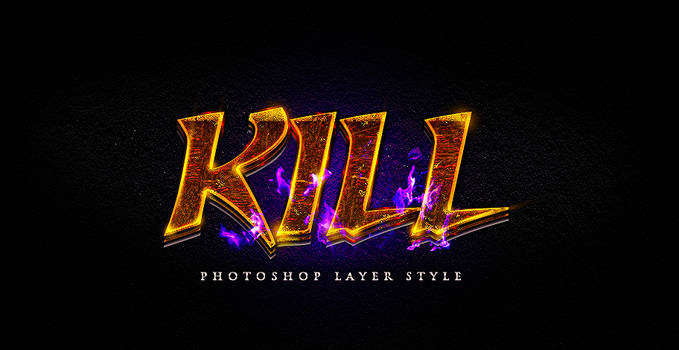 Photoshop Layer Style Psd