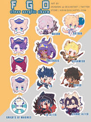 [Preorder opens!] FGO charms Act 2