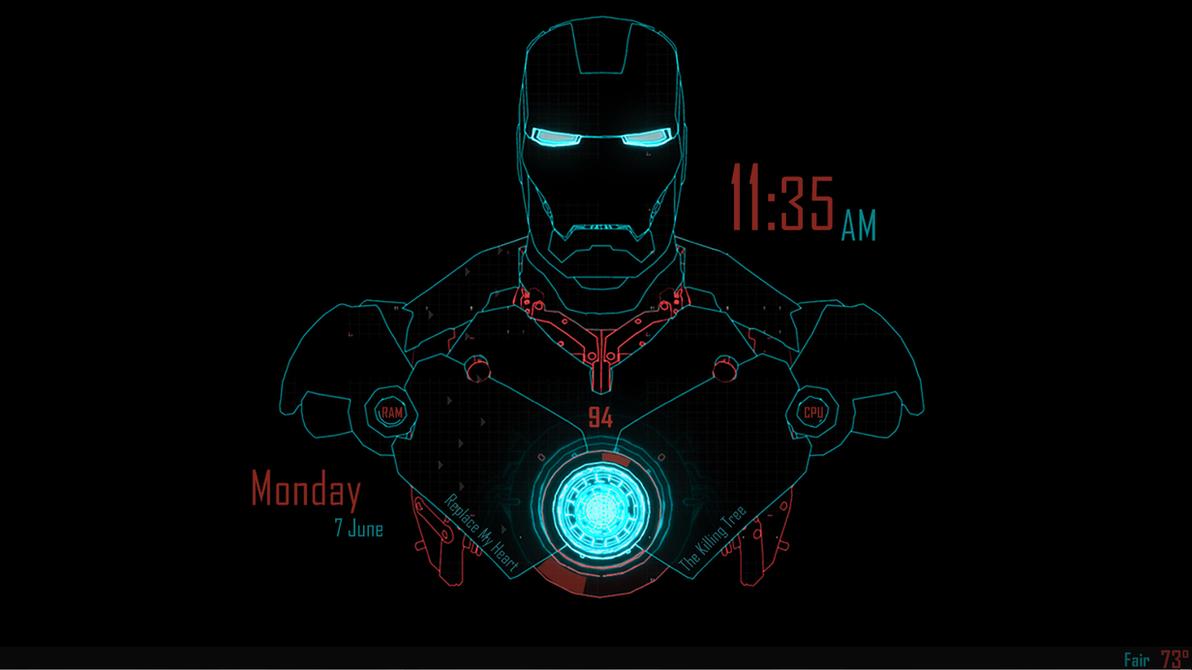 Google chrome theme iron man - Tony Stark Theme By Knovocaine