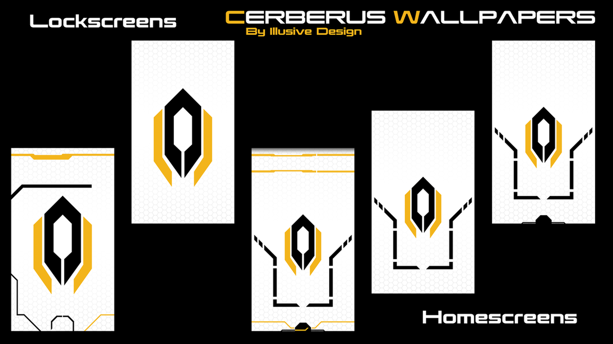 Cerberus Phone Wallpaper by Illusive-Design