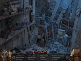 Storeroom - Hidden Object - Workflow by Zeddycuss