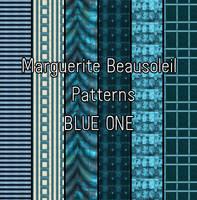 Marguerite Beausoleil Blue One by MargueriteBeausoleil