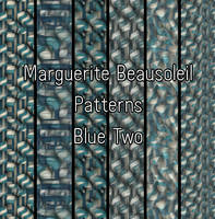 Marguerite Beausoleil Blue Two by MargueriteBeausoleil
