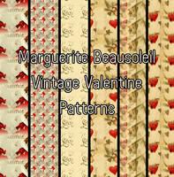 Marguerite Beausoleil Vintage Valentine by MargueriteBeausoleil