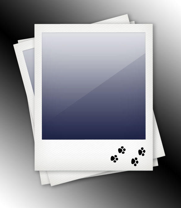 Polaroid Template By Datamouse On Deviantart