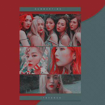 PSD COLORING #19   Summertime by itsvenue