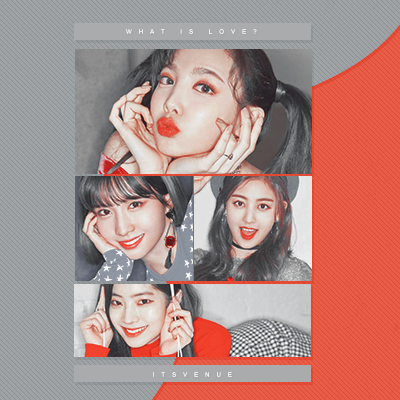 PSD COLORING #34 | What Is Love? by itsvenue