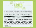 .random lines | brushes #1