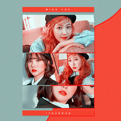 PSD COLORING #43 | Miss You by itsvenue