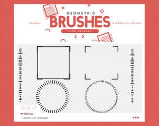 .geometric brushes #6