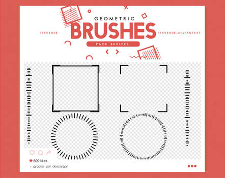 .geometric brushes #6 by itsvenue