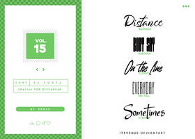 fonts pack [vol. 15] by itsvenue