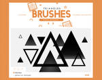 .triangles brushes #9