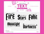 .text textures #11
