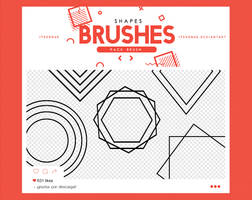 .shapes brushes #17 by itsvenue