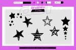.stars brushes #25