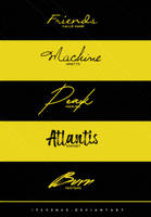 fonts pack #23 by itsvenue