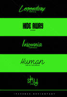 fonts pack #24 by itsvenue