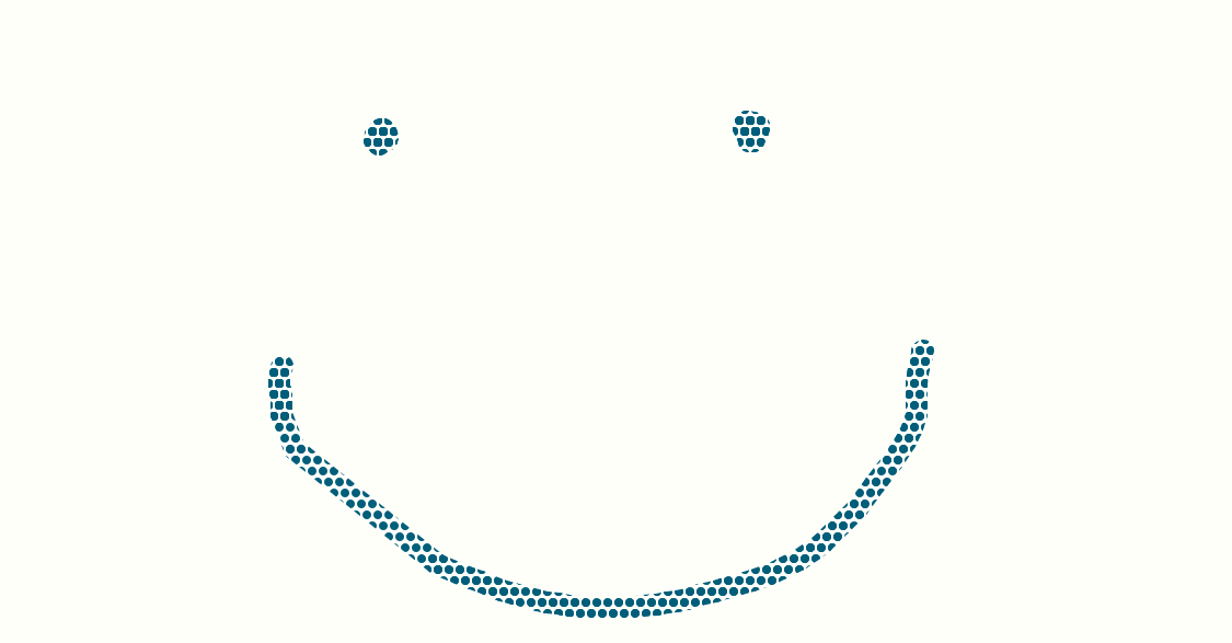 The Halftone Happy Face by EarWaxKid