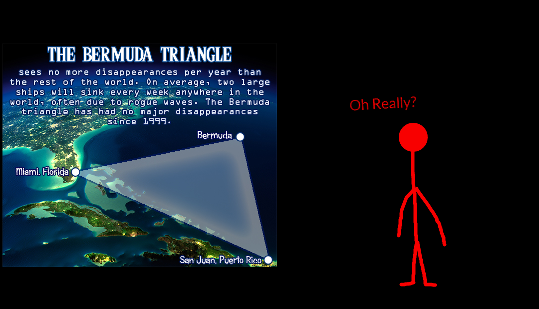 The Truth about The Bermuda Triangle by EarWaxKid on DeviantArt