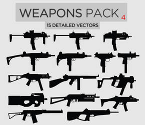 Weapons Pack #4 SMGs