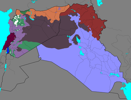 Syria, Iraq and Lebanon conflicts: Every Year
