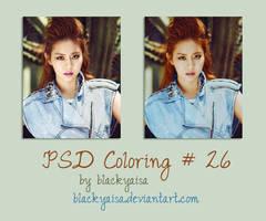 PSD coloring: 26 by blackyaisa
