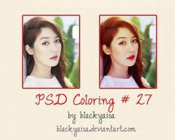 PSD Coloring: 27 by blackyaisa