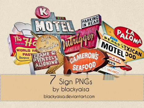 Sign PNGs
