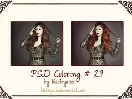 PSD Coloring: 29 by blackyaisa