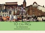 city PNGs: 2
