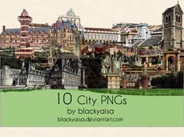 city PNGs: 3 by blackyaisa