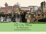 city PNGs: 3