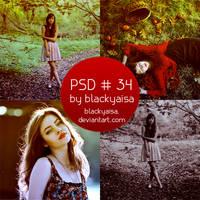 PSD Coloring: 34 by blackyaisa
