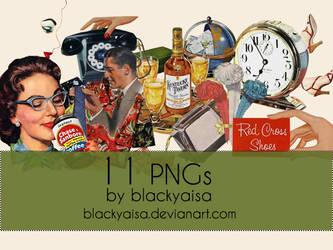 PNG Pack # 04 by blackyaisa